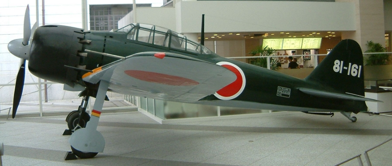 image Mitsubishi A6M5 Type 0 model 52 ZERO or ZEKE