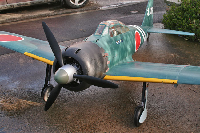 image Royal Marutaka MTK-001 Mitsubishi A6M5 Type 0 model 52 ZERO or ZEKE